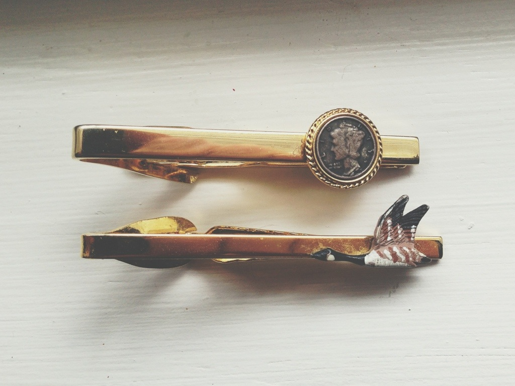 Vintage Tie Clips Men's Fashion Blog