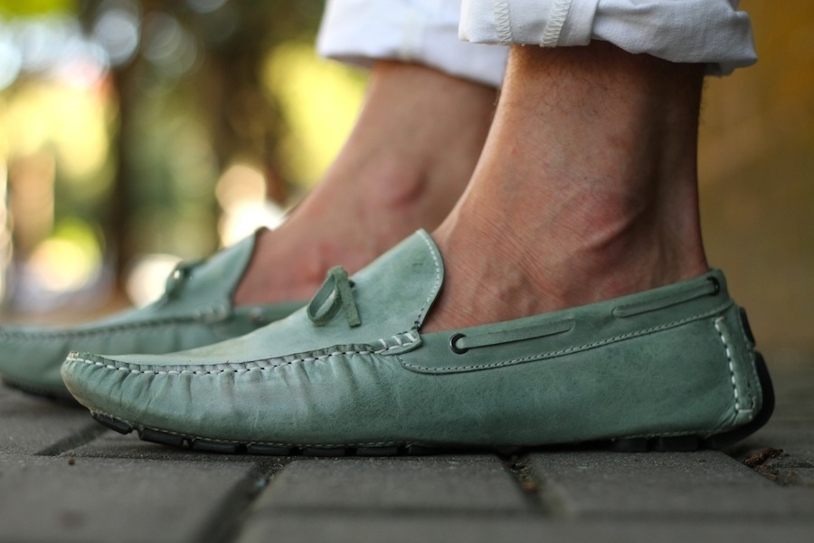 Mint Green Loafers Fane Footwear Men's Style Blog