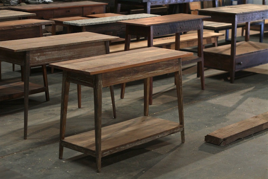 Landrum Tables Feature Brothers and Craft