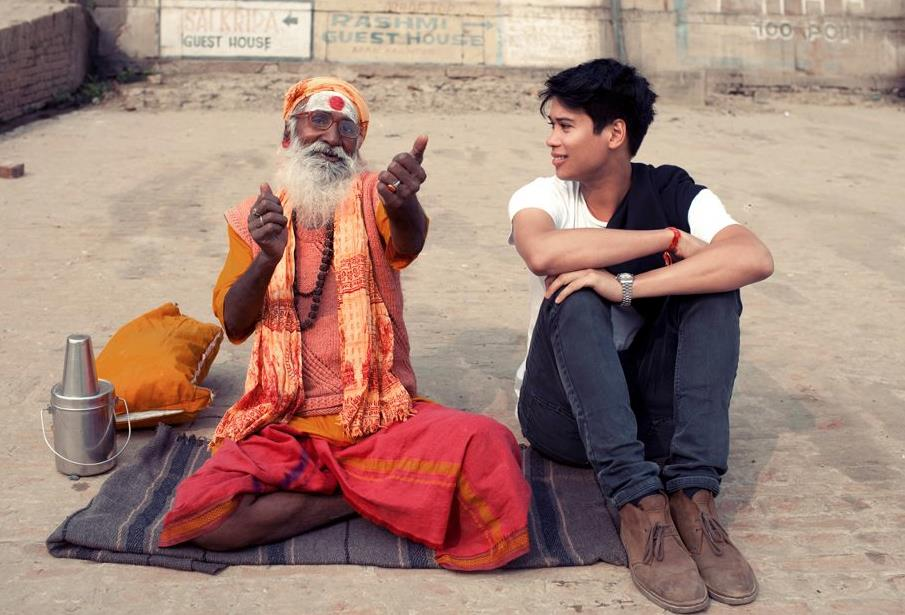 Darren McDonald.Varanasi, 2010
