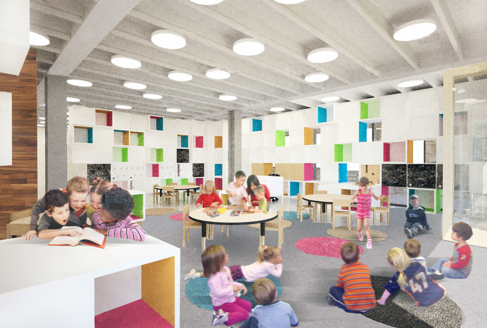 Interior Design Schools In Dc Residential Architecture Reggio Emilia School Chicago Il