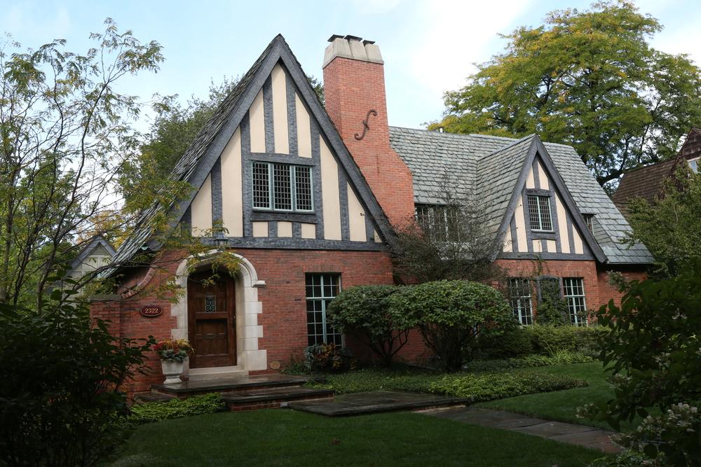 Evanston Historic Tudor