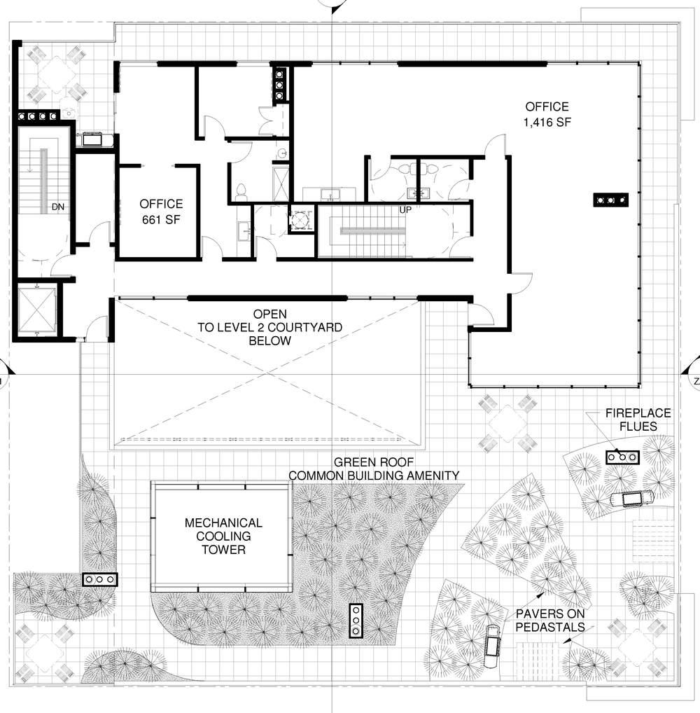 Fifth Floor Office / Roof Deck