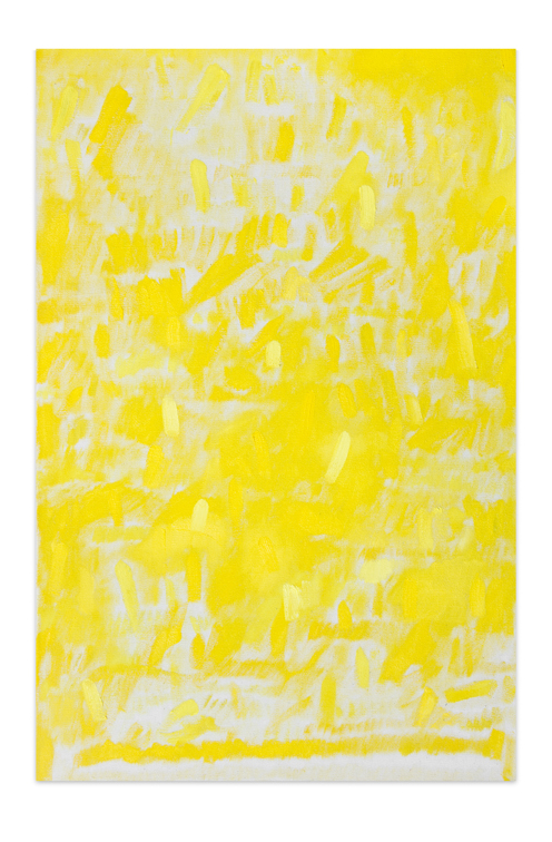 Amarillo, 2013, Oil on canvas, 50 x 33 cm