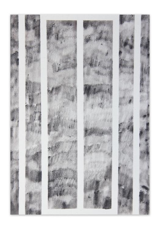 Dunkelrot ,  2012, Oil on canvas, 38 x 27 cm
