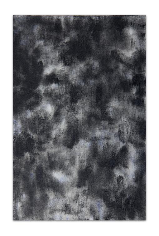 Fumée, 2012, Oil on canvas, 33 x 22 cm