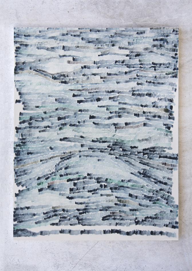 Prüsse, 2013, Oil on canvas, 140 x 110 cm