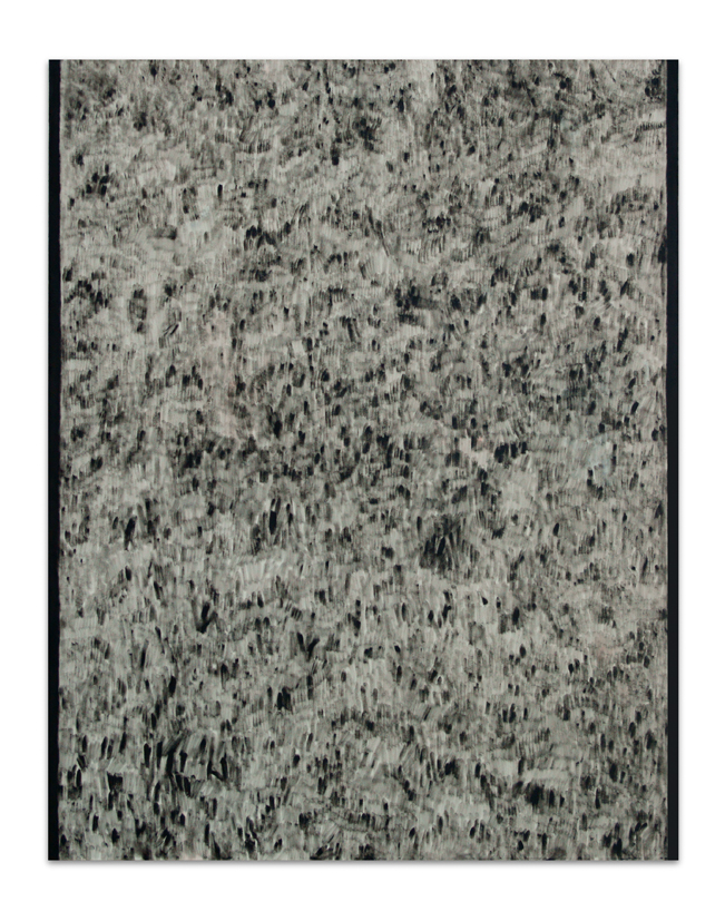 Rouge Black, 2012, Oil on canvas, 140 x 110 cm