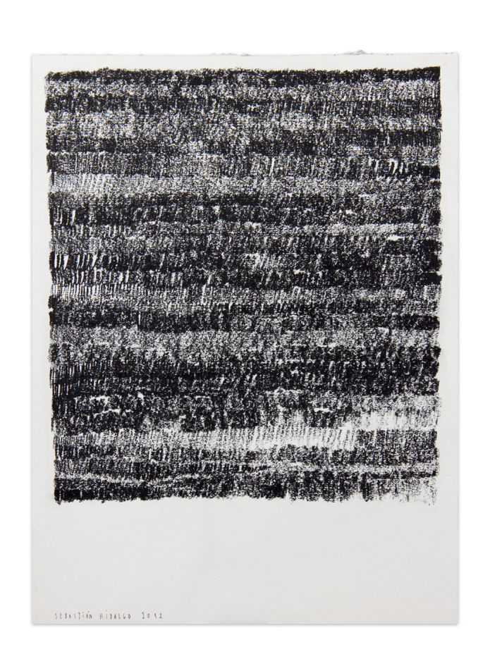 De carbón 2 , 2012, Charcoal on paper, 30,5 x 22,9 cm