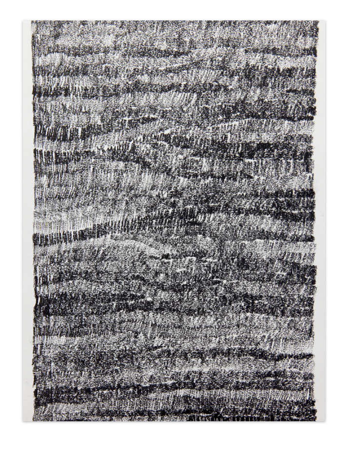 De carbón 3,  2012, Charcoal on paper, 30,5 x 22,9 cm