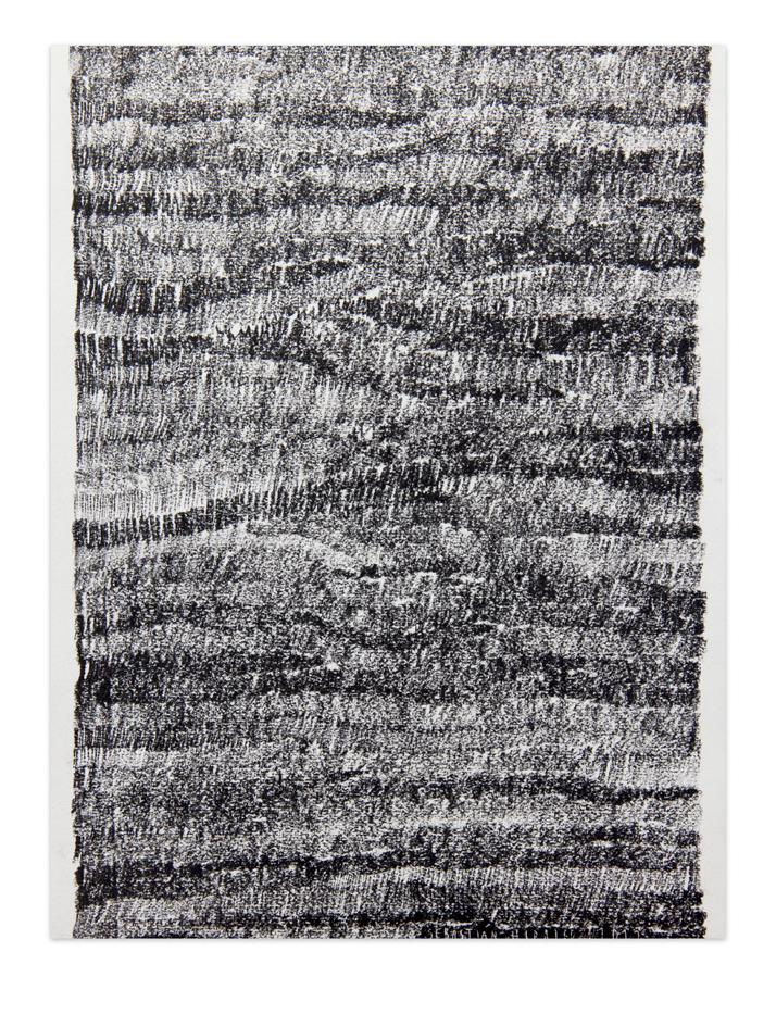 De carbón 3, 2012, Charcoal on paper, 30,5 x 22,9 cm