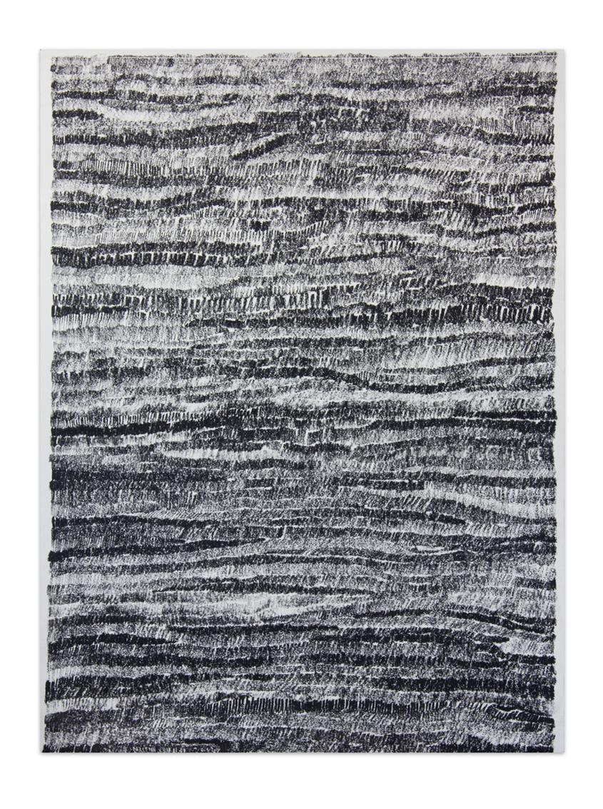 De carbón 7 , 2012, Charcoal on paper, 61 x 45,8 cm