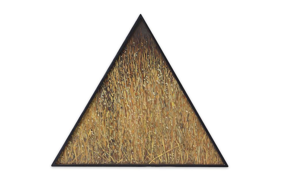 Maleza 5 , 2011, Oil on wood, 29 x 33 cm