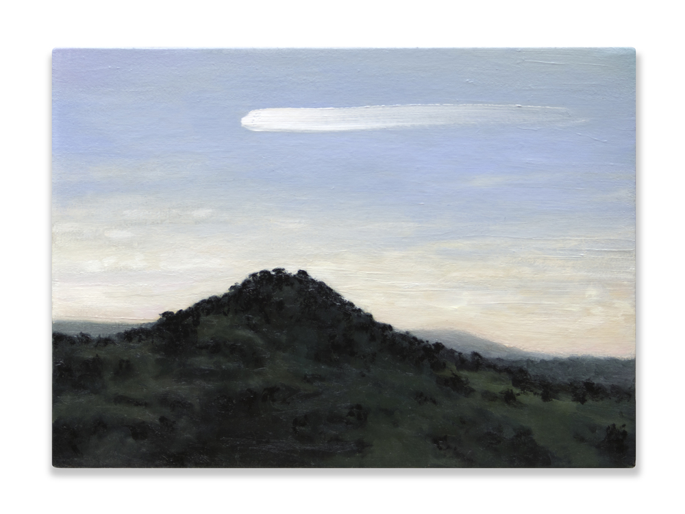 Bólido,  2014, Oil on canvas, 22 x 30 cm