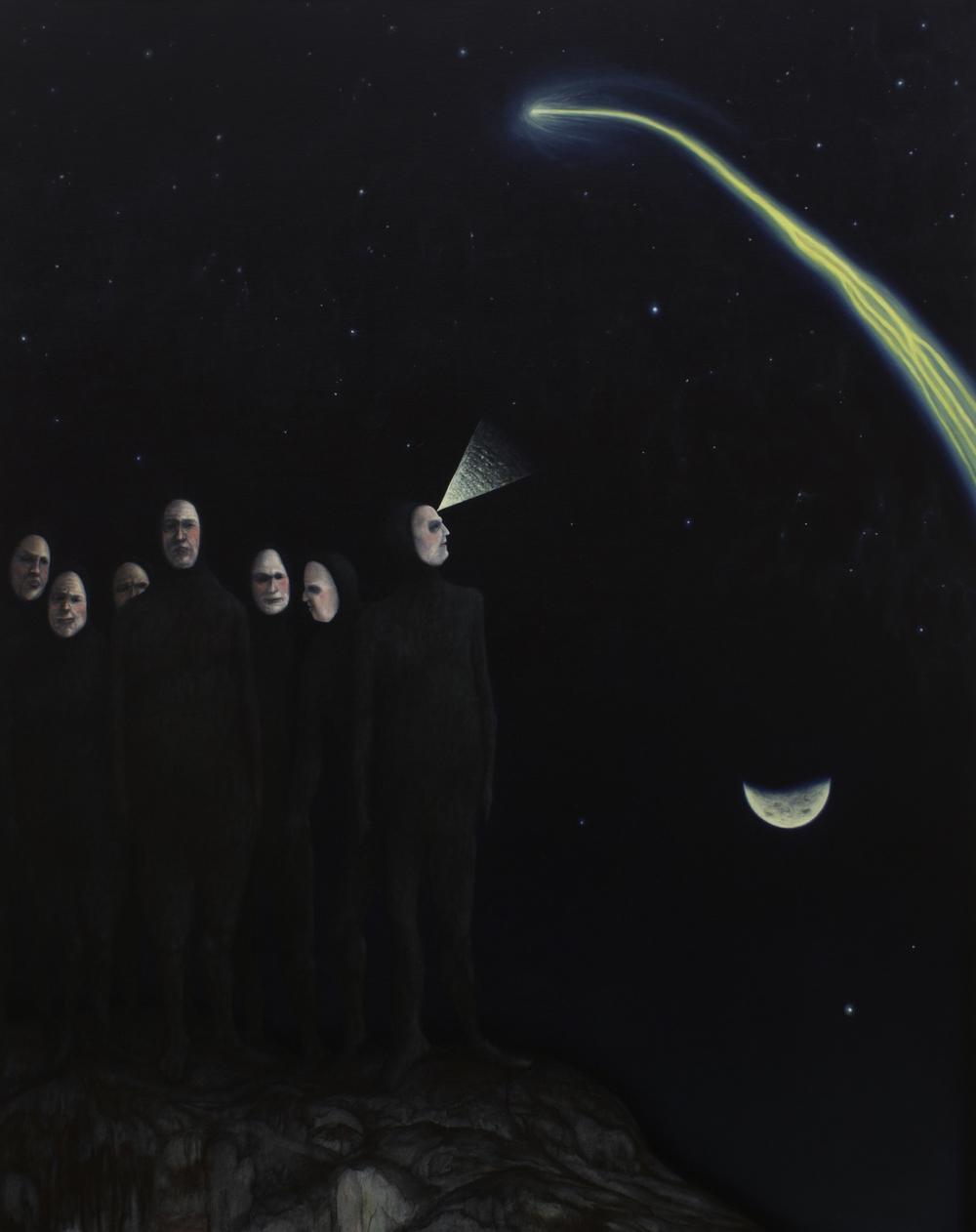 Cometa, 2014, Oil on canvas, 140 x 110 cm
