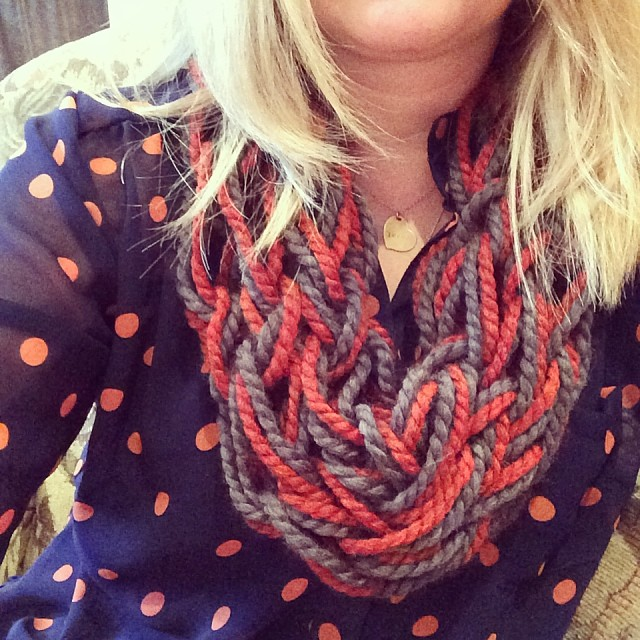 Knitting With Arms Scarf : Arm knitting — justjaynes hand stamped jewelry