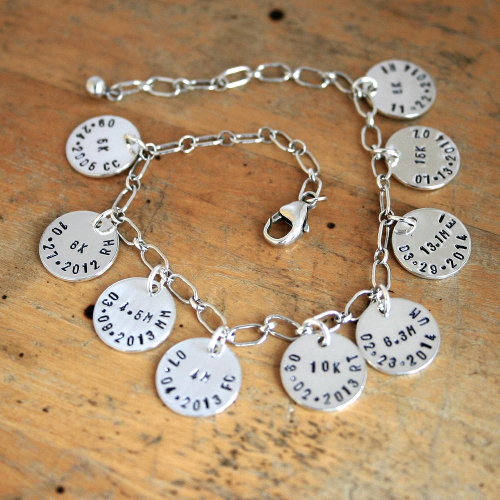 Running Charm Bracelet