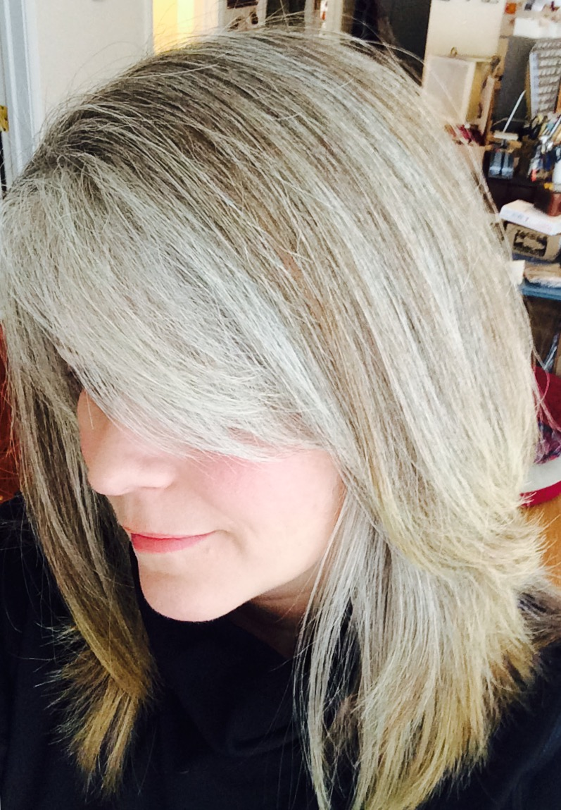 Growing Out Gray Hair Naturally Www Topsimages Com