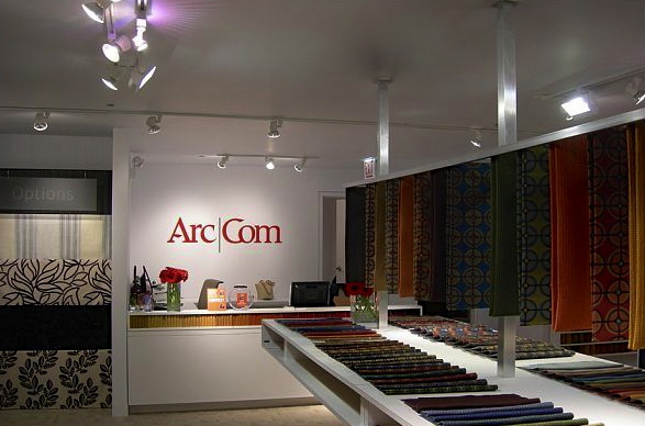 ArcCom Showroom at the Merchandise Mart in Chicago