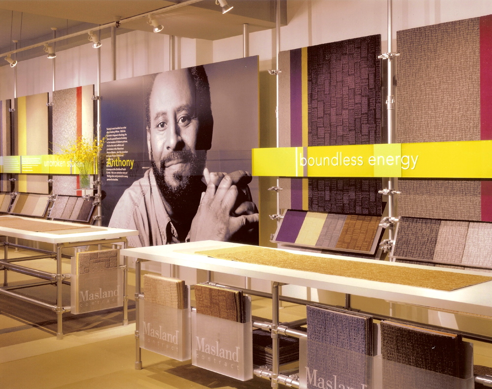 Masland Carpet Exhibit