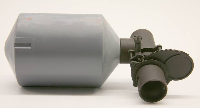 Goggle Valve mounter on Dust Washer from Walthers Blast Furnace Kit