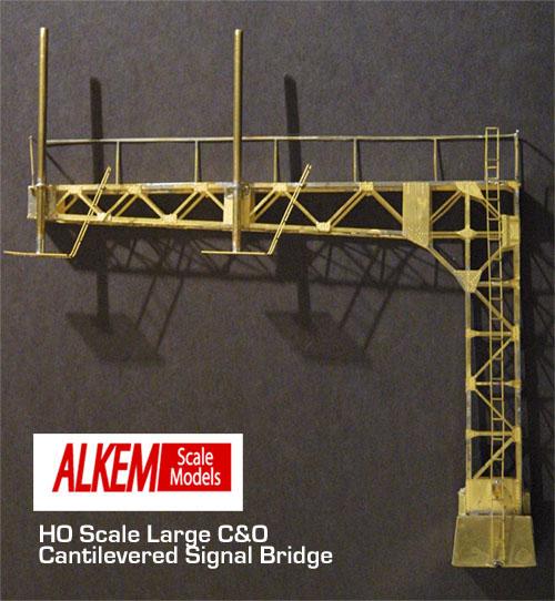 Signal Bridges Alkem Scale Models