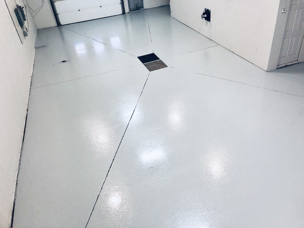 Mine Cable Services  New floor.