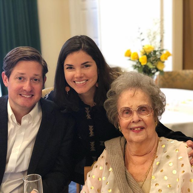 Happy 90th birthday week @katsmammy! Thank you for teaching me the importance of skin care, proper etiquette, to ignore naysayers, and most importantly, to be a kind and strong woman. We are so lucky to have you as a grandmother and love you very much!
