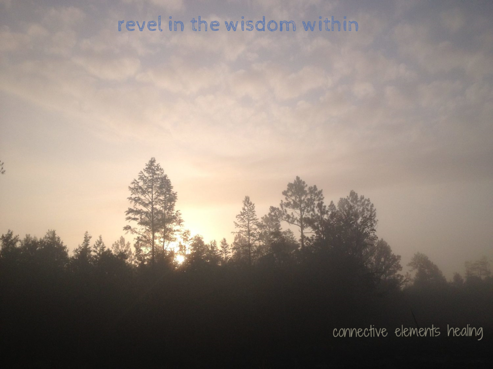Connect  with the photo: Eternally etched in my mind's eye, this amazing sunrise bid me farewell upon my departure on the last morning of my Vipassana retreat Jesup, GA