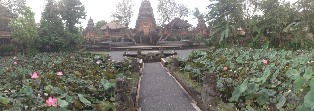 """Temple of Widsom"" - Saraswati Temple, Ubud, Bali"