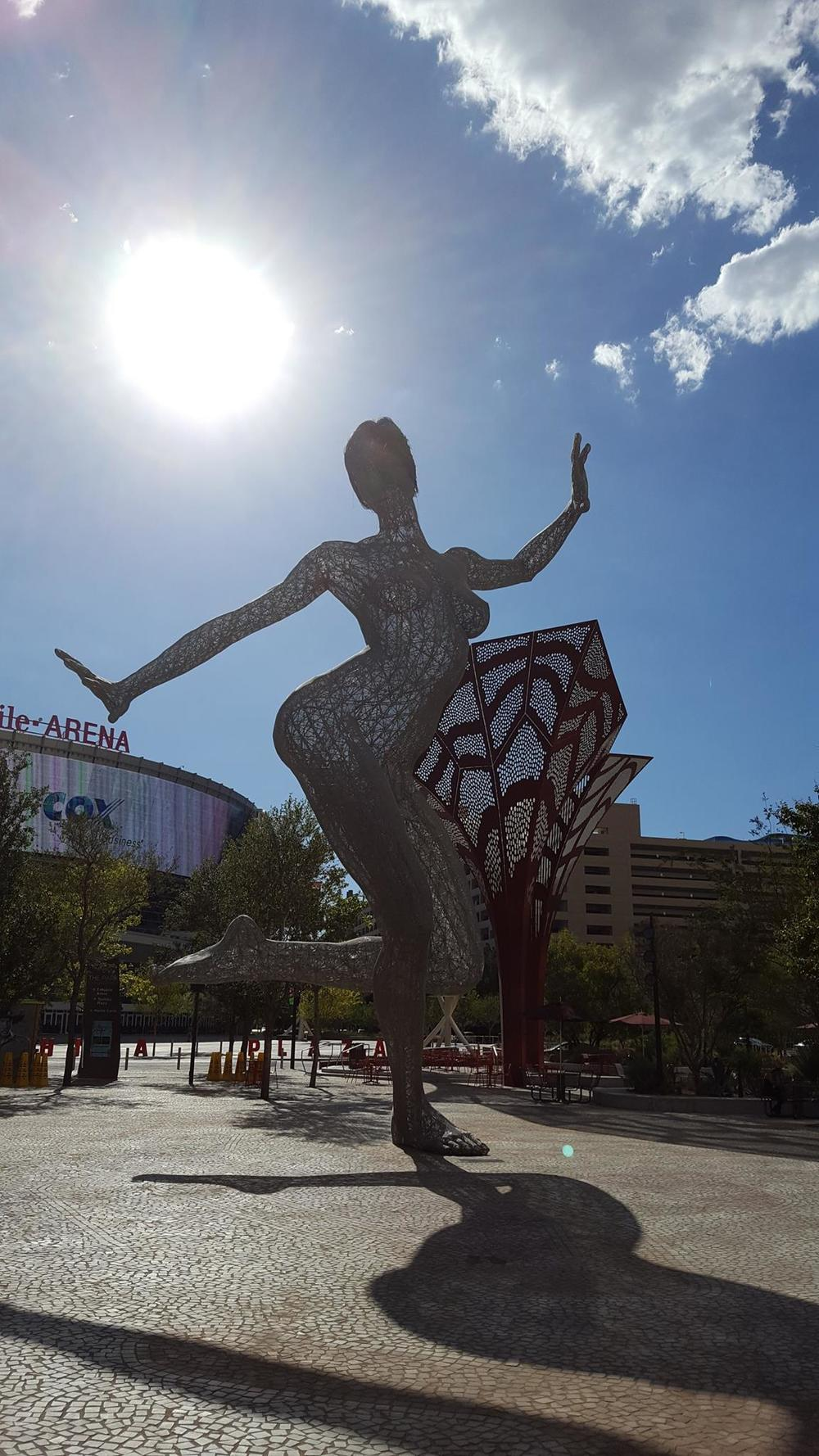 """Illuminated Dancer"" - Las Vegas, NV"