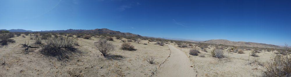 """The Long, Winding Road"" - Southern California Vipassana Center Trail, Joshua Tree, CA"