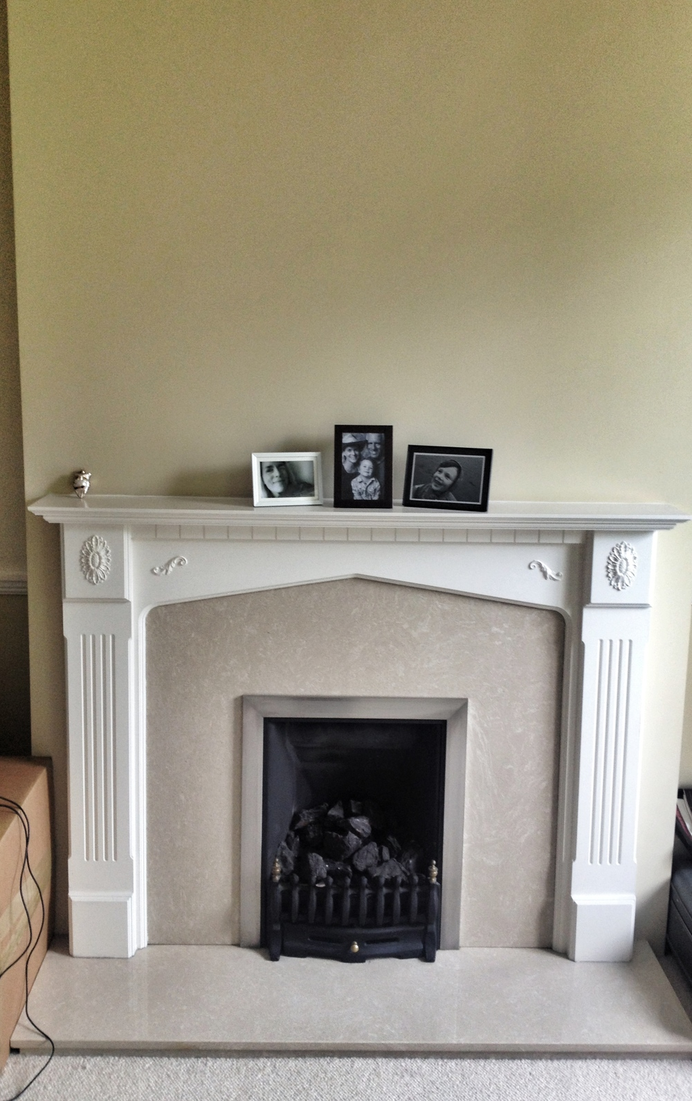 Our Coal Burning Hearth!