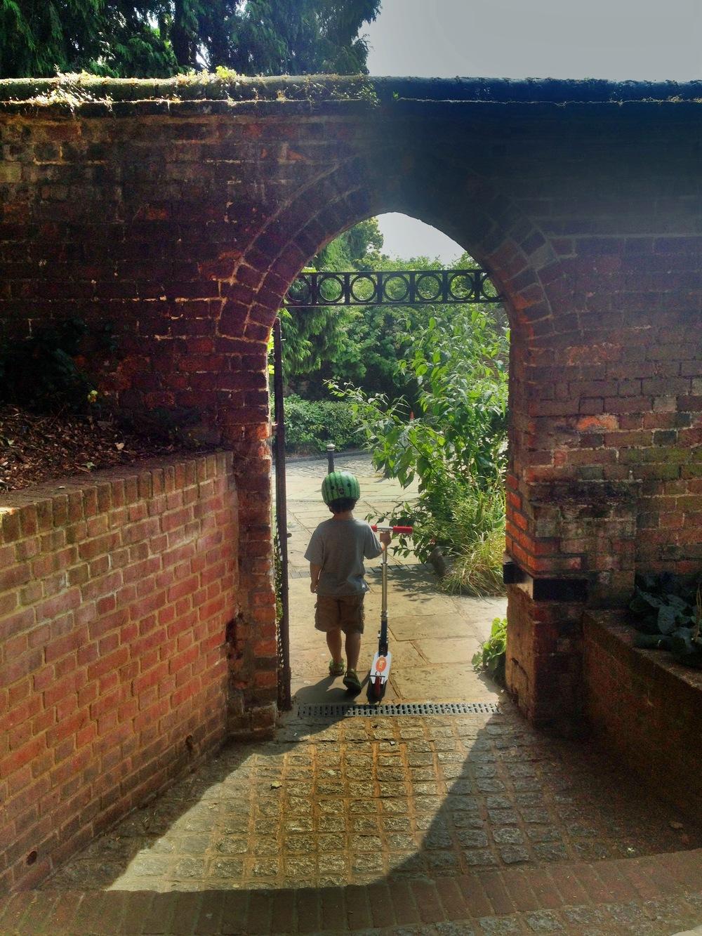 Through the Abbey