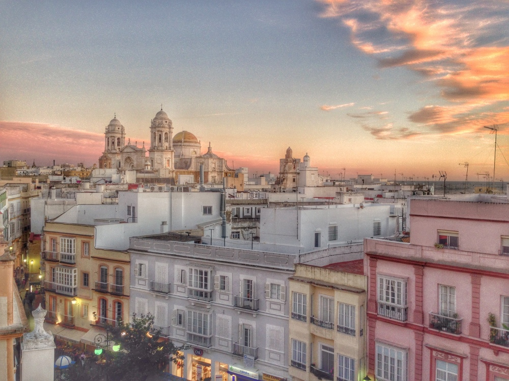 Cadiz: A postcard city if there ever was one