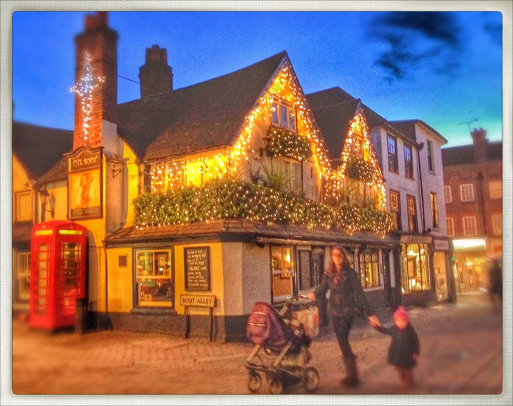 The Boot, the most festive pub in town