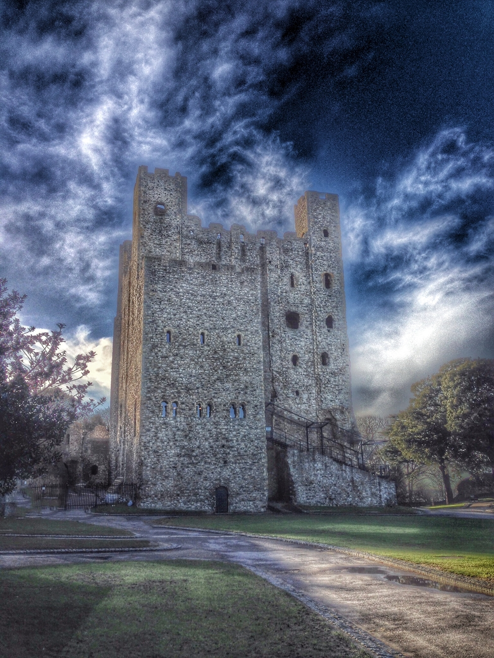 Menacing Rochester Castle