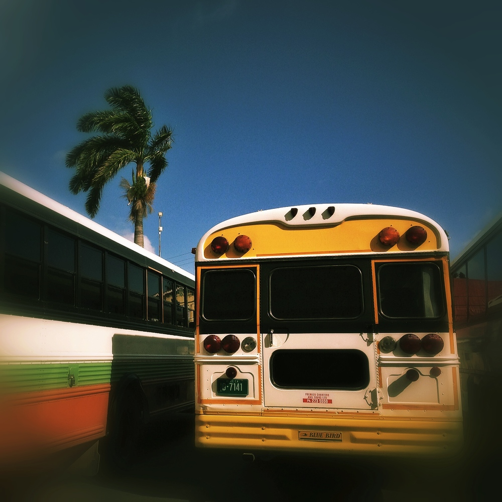 Central America: Where old buses come to retire