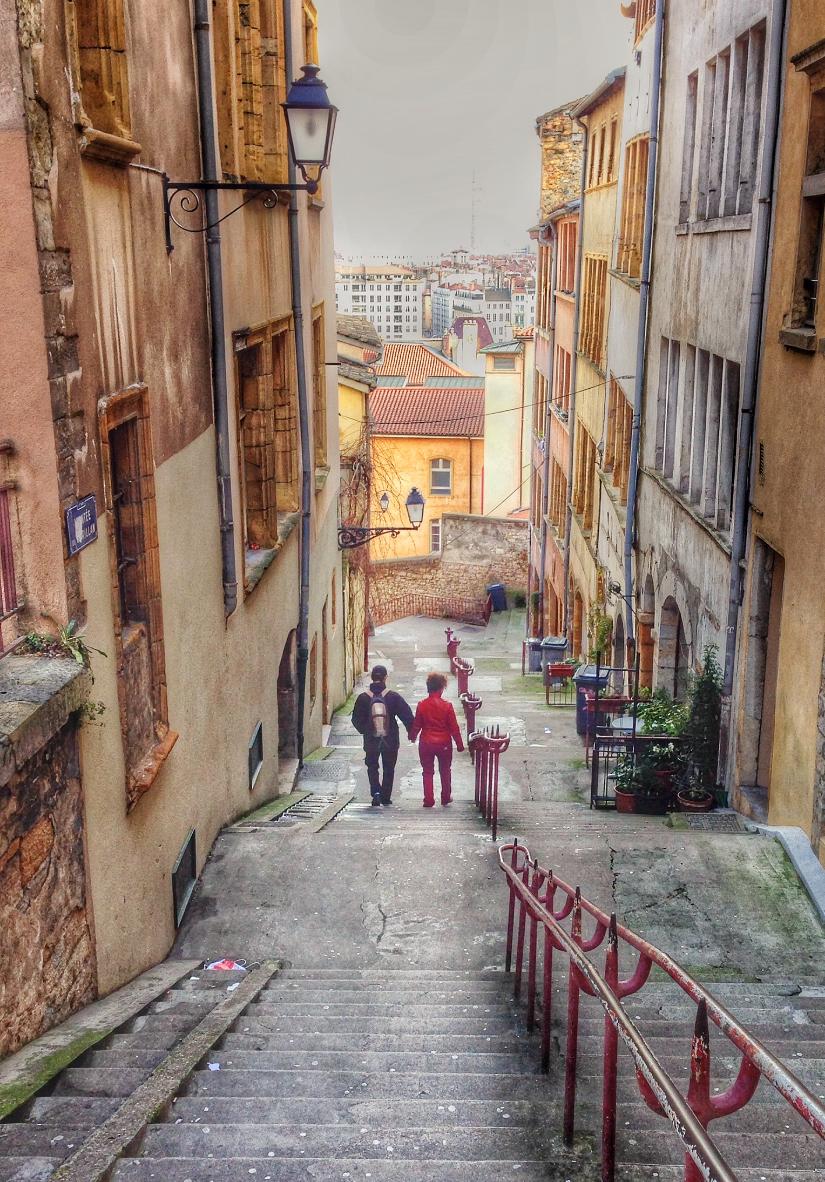 Cuteness + Strolling + Romance = Lyon