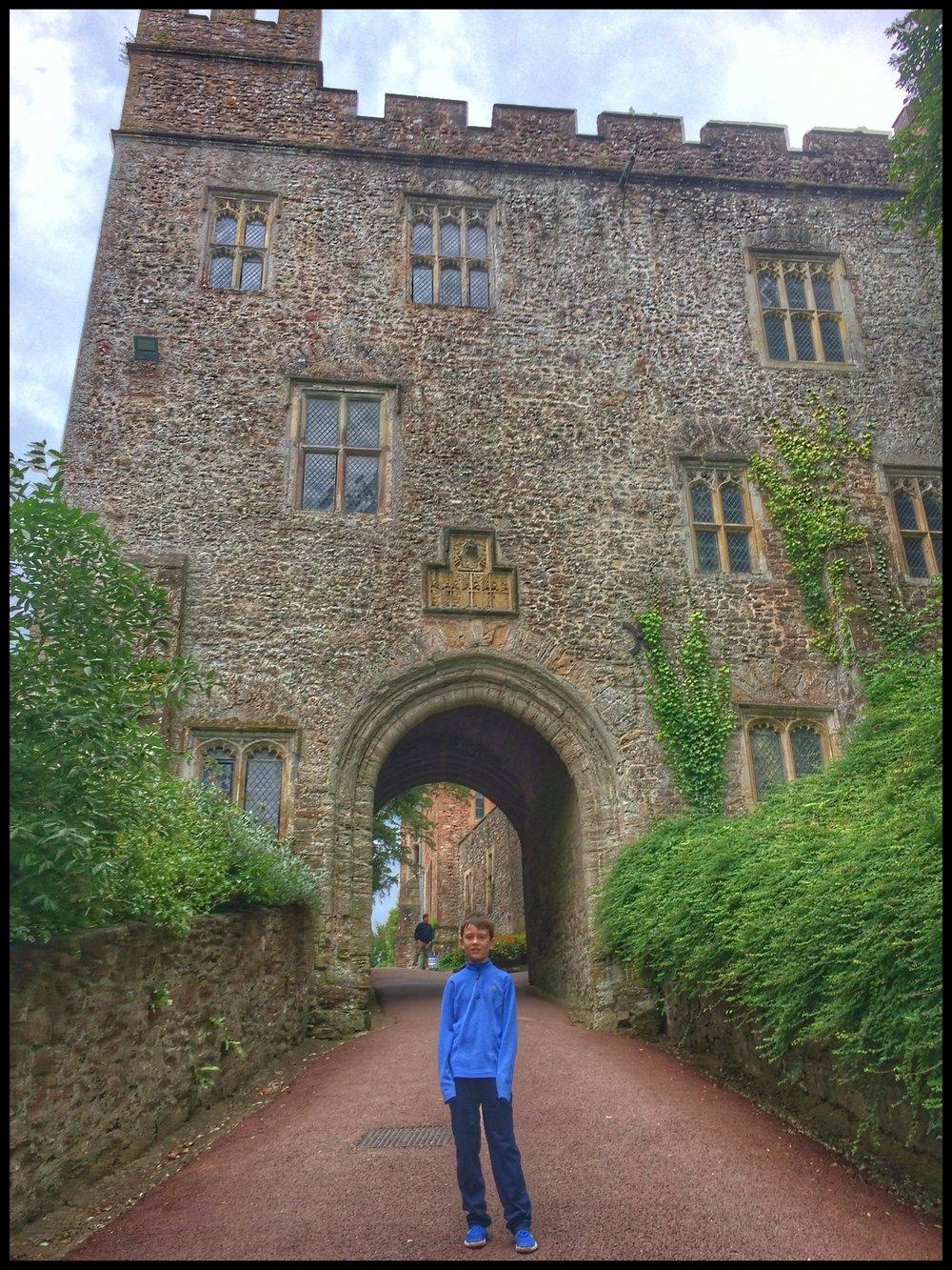 Our final castle tour at Dunster