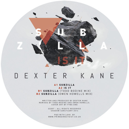 Owen Howells remix of Dexter Kane (Mixed by Brendan at Breakneck - Mastered by label)