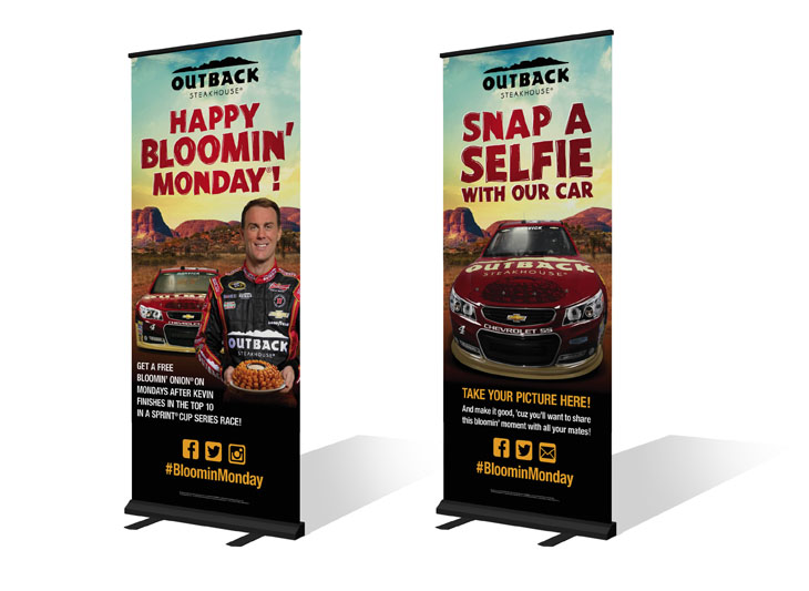 At-Track roll-up banners