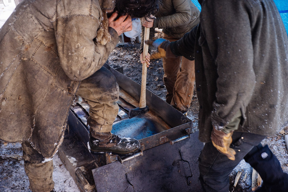 Boiler pan.  Minnesota .