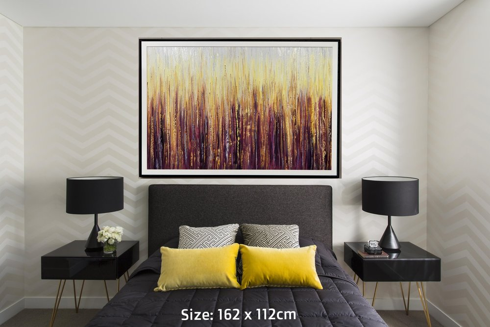 purple bamboo in bedroom.jpg