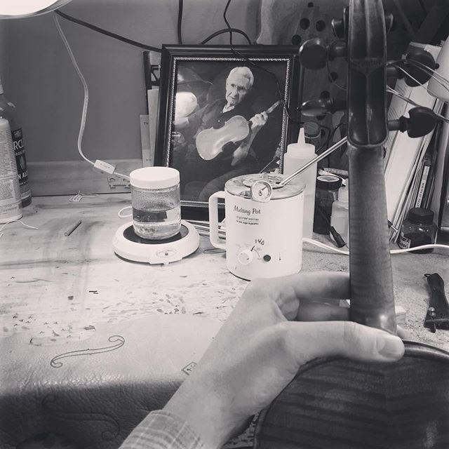 Repair and Restoration workshop Wyatt Violin Shop