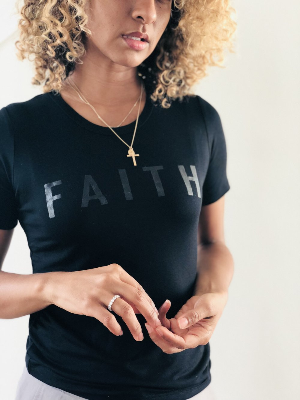 (PLACEHOLDER FOR FAITH TEE IMAGE)