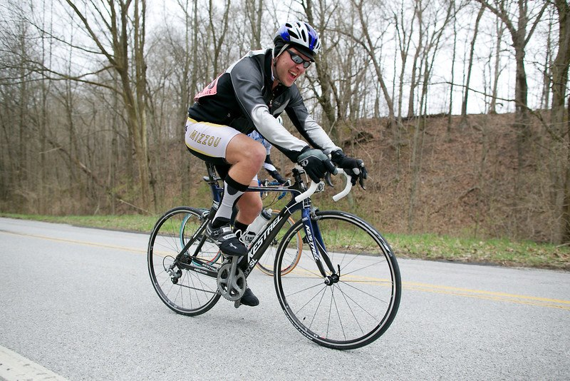 Alex Miller during the Purdue road race spring 2013