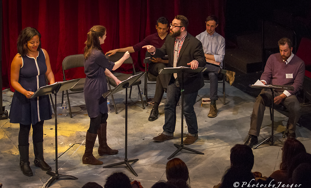 Photo: Jerry Jaeger Redder Blood at the 2016 Boston Jewish Playwriting Contest
