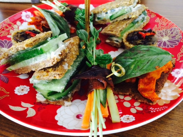 Savoury raw food is divine