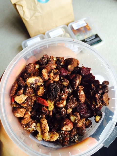 Nut Granola with inca and goji berries